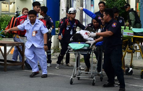 Two Italians injured in Thailand bomb attacks