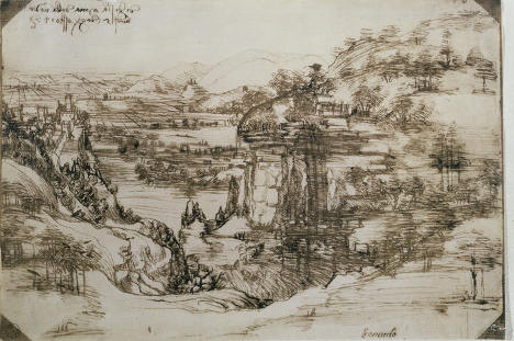 Early Leonardo piece to be shown in artist's home town