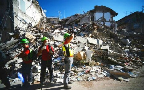 Germany to rebuild school as Italy's quake probe deepens