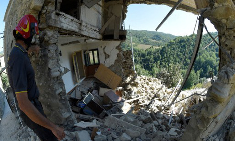Yet another earthquake strikes in central Italy