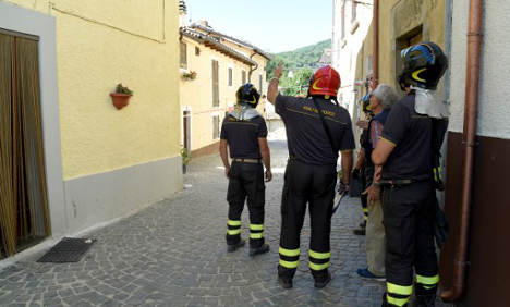 Water in quake-hit Amatrice no longer safe to drink