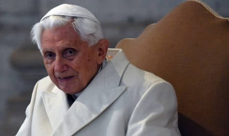 Ex-pope Benedict 'was in love as young man'
