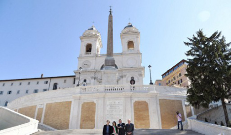 Eight things you should know about Rome's Spanish Steps