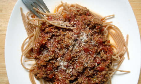 Why you won't find spaghetti bolognese in Italy