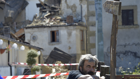 New quake strikes central Italy disaster area