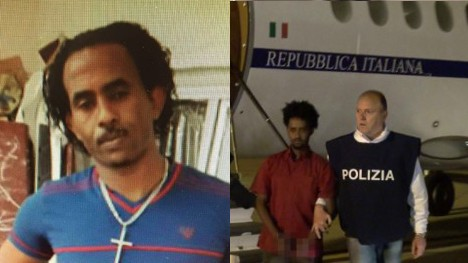 Eritrean 'people smuggler' to stand trial in Italy