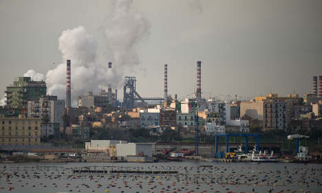 Italy steel plant blamed for spike in child cancer cases