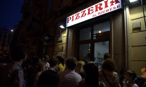 Italy's most famous pizzeria sets up shop in London