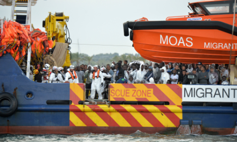 Record migrant arrivals in Italy as tensions rise