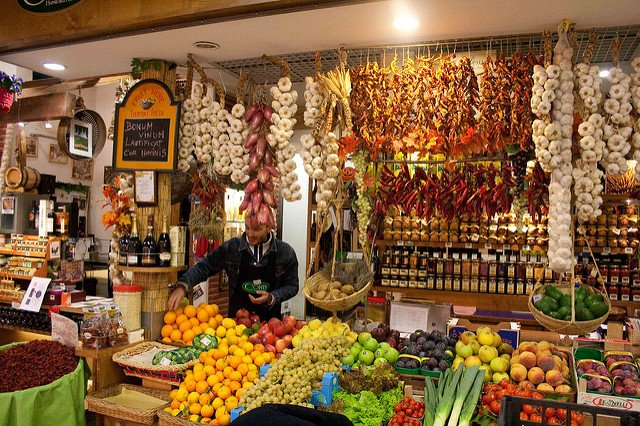 Rome's central train station gets a new artisanal food market
