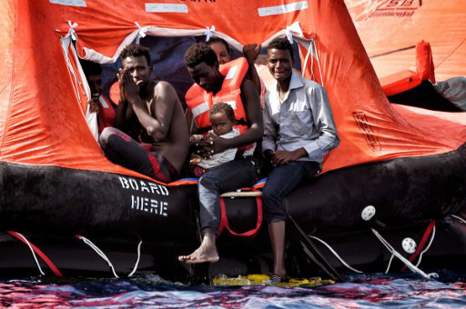 The battle of migrant rescue 'angels' to save lives
