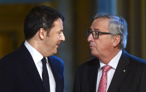 EU says Italy is at risk of breaking budget rules