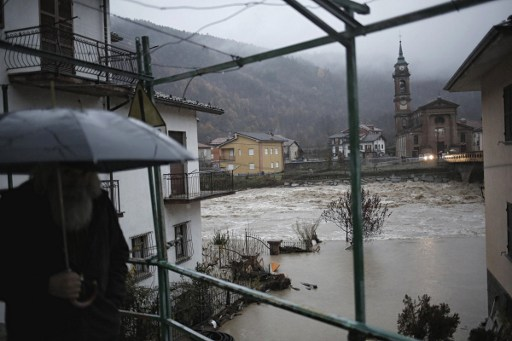 One feared dead as storms continue to batter northern Italy