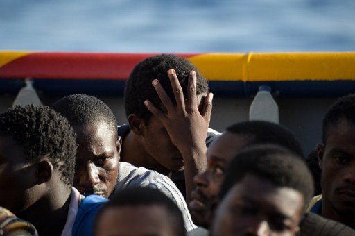 Italy migrant arrivals hit record as eight die in Med