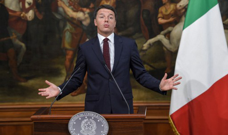 Italy referendum 'is a choice between nostalgia and the future'