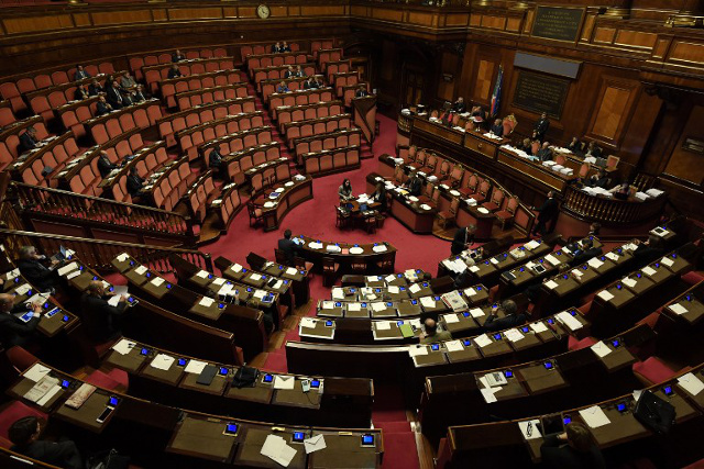 Italian Senate approves budget, paving the way for new PM
