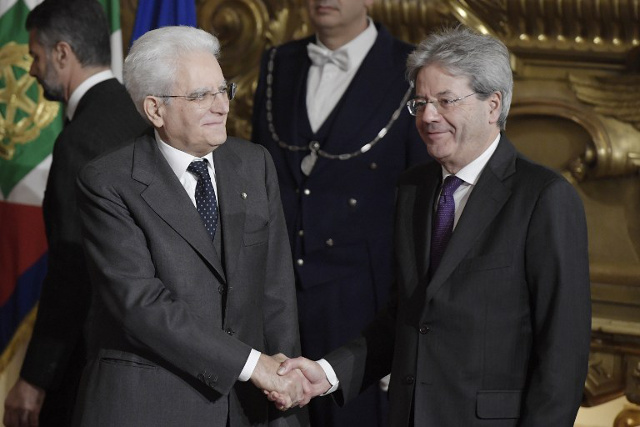 Italy 'optimistic' as new cabinet sworn in