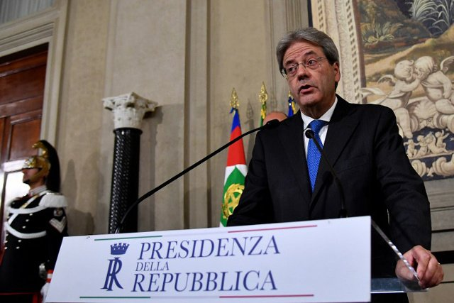 Italy's new PM Gentiloni races to form new cabinet