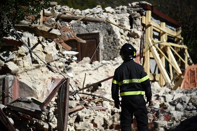 Life goes on: Christmas in Italy's earthquake hit towns