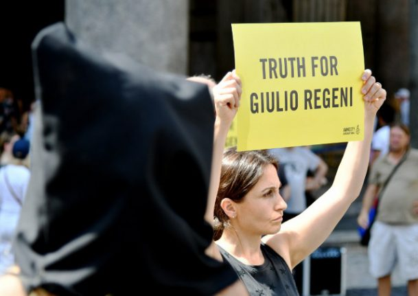 Egypt police quizzed as part of Regeni probe