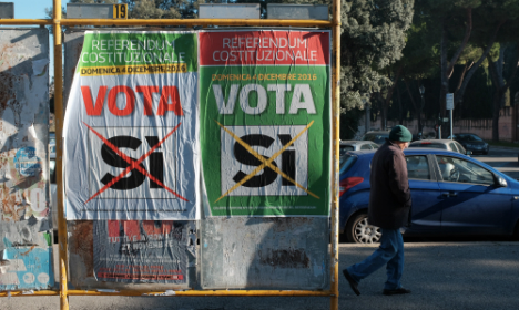 Media silence in Italy on eve of referendum