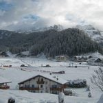 VAL GARDENA, SOUTH TYROL, DOLOMITES – Val Gardena offers a large range of options for alpine excursions, freestyle and snowboarding as well as connections to the rest of the Dolomites. Picturesque mountain huts house most of the accommodation, restaurants and bars.Photo: Val Gardena - Gröden Marketing/Flickr
