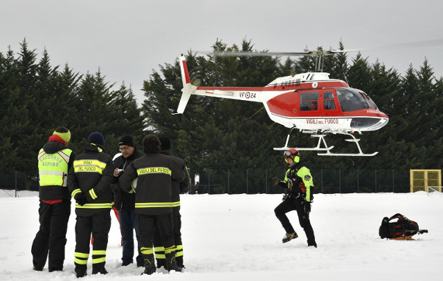 Pleas for help from avalanche hotel were dismissed as a 'hoax'