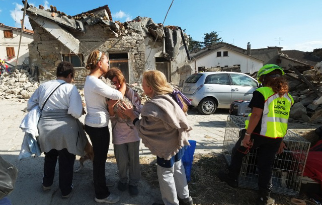 Five months after the earthquake, Italy residents say 'nothing has changed'