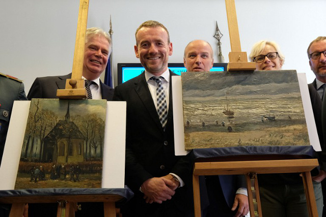 Italy is sending these Van Gogh masterpieces home, 14 years after a mafia boss stole them