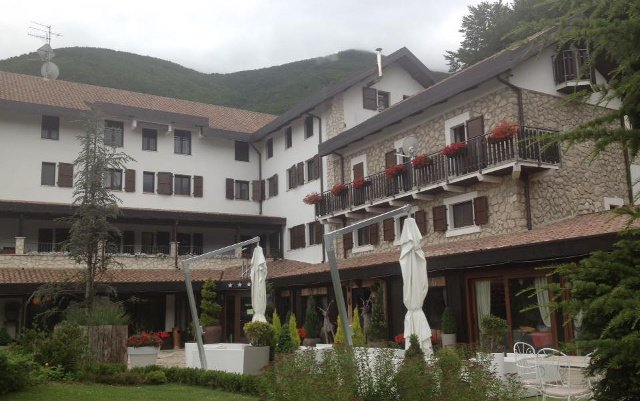 Memories of Italy's mountain paradise hotel before the avalanche