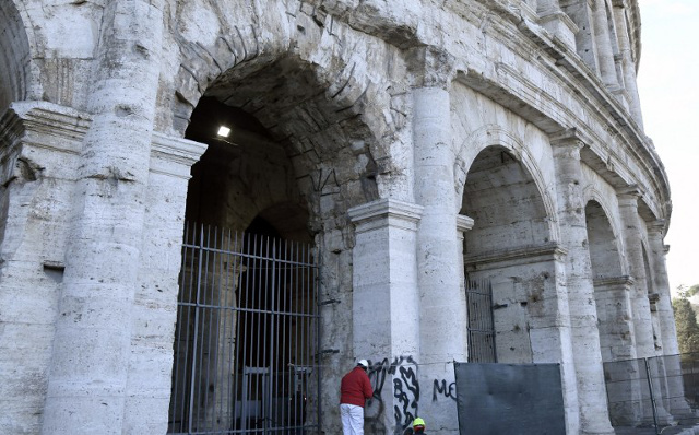How Italy plans to fight back against monument vandals