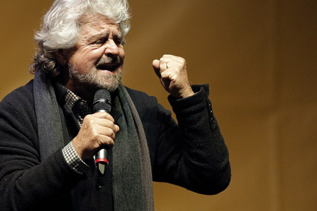 Italy's populist leader: Public should decide whether news is fake