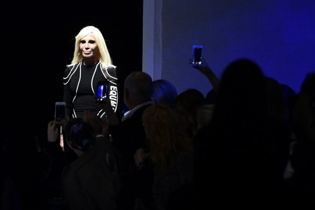 Versace gets political with defiant defence of feminism