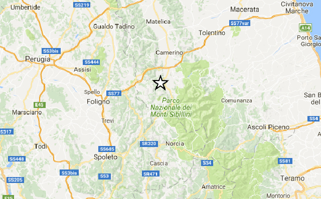 Central Italy shakes in new 4.4 magnitude earthquake