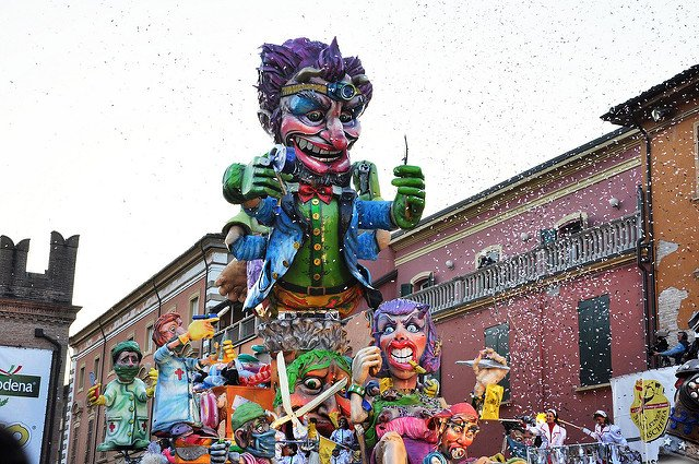 Carnival float runs over teen in northern Italy