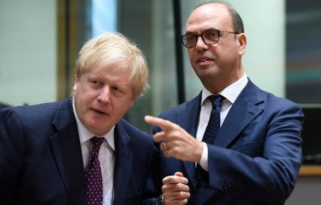 Italian foreign minister warns against punishing the UK in Brexit talks