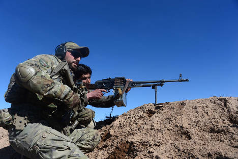 Italian troops use winter to bolster Afghan army against Taliban