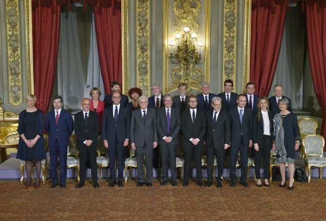 Here's how much Italy's top politicians earned last year