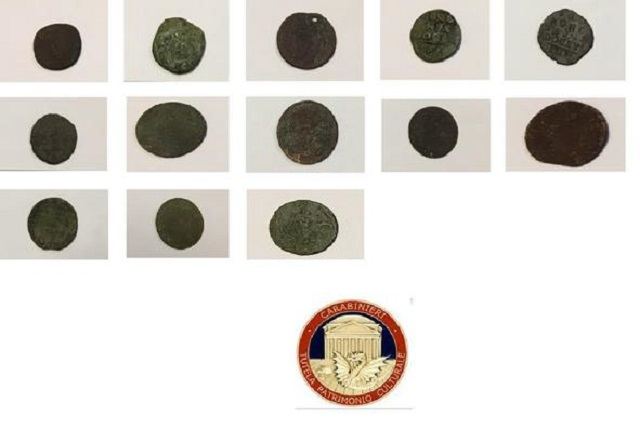 Italy's 'Art Squad' charges hoarder of rare Roman coins