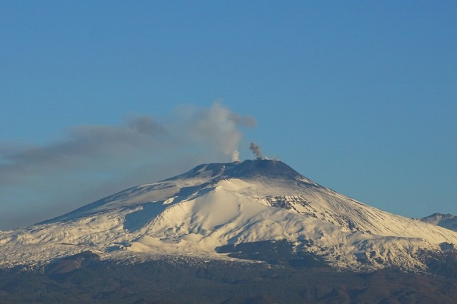 VIDEO: See the latest eruptions at Etna, Europe's most active volcano