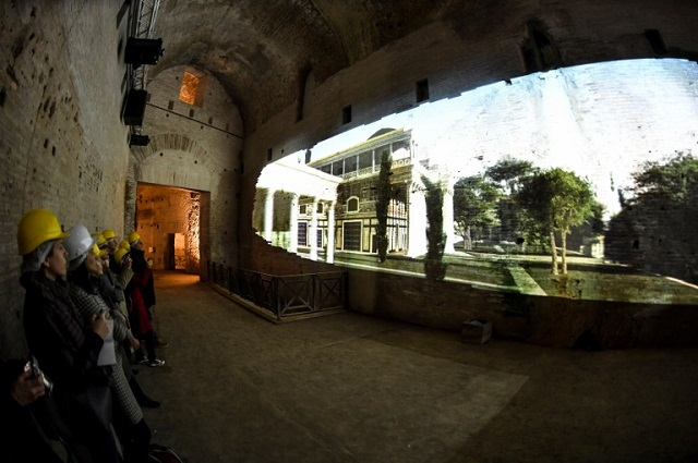 You can now stroll in Emperor Nero's garden with a virtual reality tour