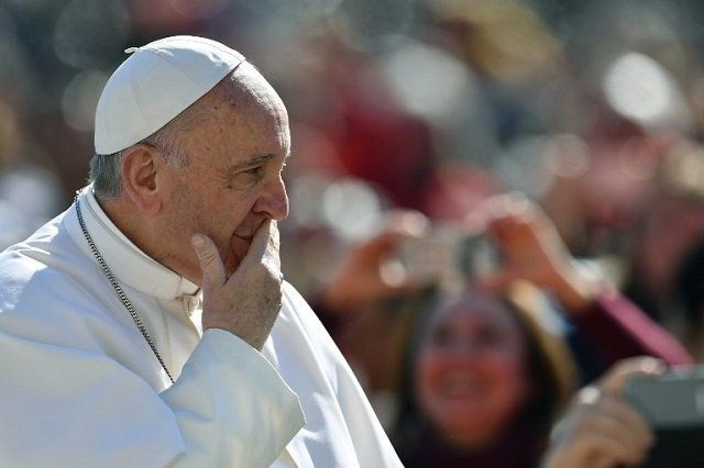 Cutting jobs is a 'very serious sin', says pope