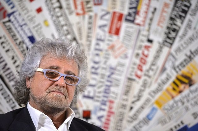 'It's all my fault': Sarcastic Grillo rejects press freedom criticism