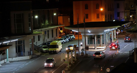 Italians angered after Switzerland closes border crossings at night