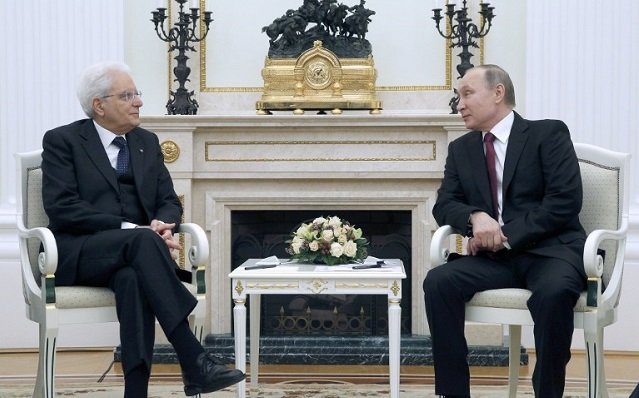Kremlin visit: Italy's president wants to team up with Putin to fight terror