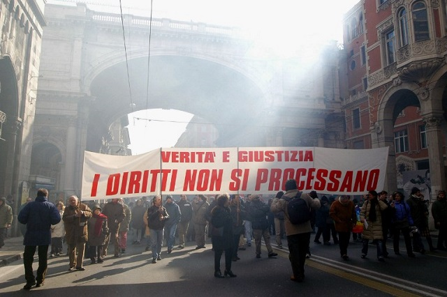 Italy admits police brutality at Genoa G8 summit, pays out thousands to victims