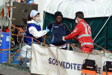 Frenzied rescues in Med save over 2,000 migrants
