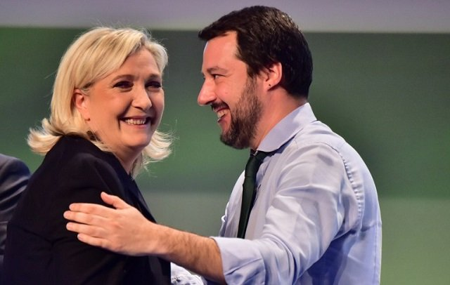 French elections: Italy's far-right leader congratulates Le Pen on reaching second round