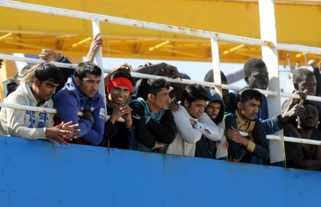 Italy rescues 480 migrants at sea