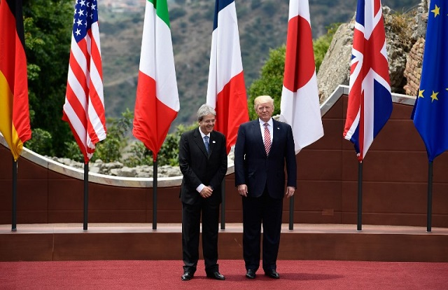 Trump rows cast shadow over 'toughest G7 in years'